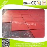Réutiliser le caoutchouc pour des couvre-tapis de plancher de cour de jeu de sûreté