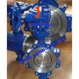 API/DIN Essentric Oblate-Öse-Form-Stahl-industrielles Drosselventil