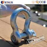 Wir Typ Stahlabsinken schmiedeten galvanisierte Schraubepin-Anker-Fessel