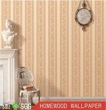 Personalizado de papel de pared de vinilo en relieve profundo con PVC impermeable