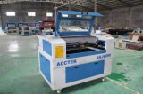 Laser CO2 Engraving Machine di Acctek 6090 per il laser Design/CO2 Cutting Machine di Leather