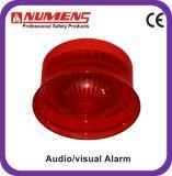 Тональнозвуковой пожарной сигнализации обычный/визуально сигнал тревоги, красное тело (442-004)