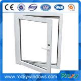 Сползая окно/конструкции одиночных/двойника Tempered стекла PVC окна