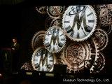 패션쇼를 위한 Galaxias P12.5 유연한 발광 다이오드 표시