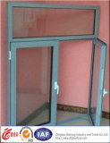 Окно дешевого алюминия фикчированное