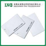 플라스틱 공백 백색 카드 Cr80-86*54mm