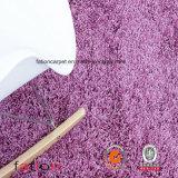 Moquette Shaggy solida della coperta di zona di porpora 5*8 del salone & della camera da letto della coperta di tessuto felpato