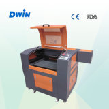 고무 도장 소형 조각 절단 이산화탄소 Laser 기계 (DW6040)