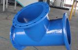 Pipe de fer/té malléables de garnitures pour les Di ou la pipe En545/En598 de PVC