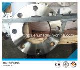 Enxerto de JIS B2220 na flange lisa do aço inoxidável 316 da placa