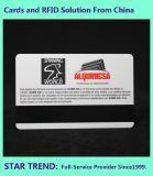 磁気ストライプおよび四色刷の印刷とのバンクカードかクレジットカード