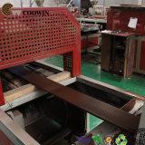 Linha de produção de madeira máquina do perfil do plástico WPC de PP/PE/PVC da extrusão de /PVC