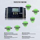 controlador solar inteligente da carga de 12V 24V 30A PWM