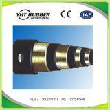 En 853 manguito de goma flexible reforzado alambre de 1sn/del SAE 100r1at