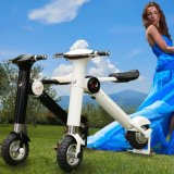 Ecorider che piega bici elettrica, bicicletta elettrica pieghevole della lega di alluminio dei velivoli