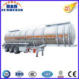De lichtgewicht 3 Semi Aanhangwagen van de Vrachtwagen van de Tanker van de Stookolie van het Aluminium van de As 36000liters