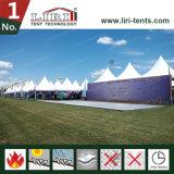 Aluminium et tente mobile de pagoda de PVC utilisée pour le sport