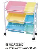 Sostenedor del hogar Muebles de juguete con ruedas (RX-E6111)