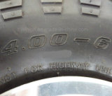 4.00-6 3.50-5 알루미늄 변죽을%s 가진 4pr Tt 뗏장 압축 공기를 넣은 바퀴