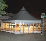 Tienda al aire libre del partido del marco de Snowproof de la tienda de aluminio de la tienda de los indios norteamericanos