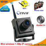1.3 Megapixel Camera van het Web van het Netwerk van kabeltelevisie P2p de Draadloze MiniIP