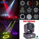 DJ 소형 LED 30W 반점 이동하는 맨 위 빛