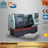 저가를 가진 고속 Cknc6150 편평한 CNC 선반 기계
