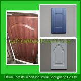 Puerta de cabina usada muebles del PVC del Baseboard del MDF