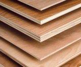 Madera contrachapada barata del anuncio publicitario de la base del álamo de la madera dura