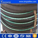 Boyau hydraulique de renfort de spirale de l'acier inoxydable quatre
