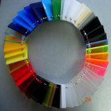 Hoja de alta calidad de color de alto brillo de acrílico fundido Fabricantes