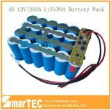 20ah LED de iluminación solar paquete de baterías de 12V