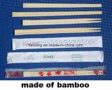 Baguettes en bambou remplaçable avec la couverture entièrement de papier