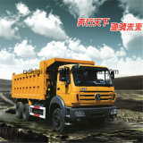 Caminhão de descarga de Beiben 6X4 340HP 25ton da estrela da potência em Congo