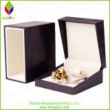 Коробка портативного черного твердого Jewellery упаковывая для вахты