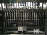 Planta de relleno automática de la máquina del petróleo de palma de la botella que capsula de cristal