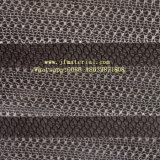 Hilado plisado alta Quanlity fibra de vidrio del acoplamiento de la pantalla del insecto del Plisse del poliester del SGS