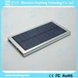 6000mAh Double Port USB Super Thin Batterie Externe Batterie Aluminium Solar Power Bank (ZYF8079)