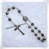 Handgemaakte Religieuze Resin Cross Bead Car Rozenkrans (IO-CB009)
