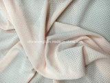 Tela funcional 100%Poly, 130GSM, tela de confeção de malhas de Jersey com o antimicrobial para a tela do esporte