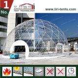 Tenda libera della cupola geodetica del coperchio per i partiti e le cerimonie nuziali esterni
