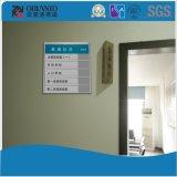 Aluminiumnamensvorstand-Büro-flaches Zeichen