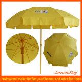 로고를 가진 주문을 받아서 만들어진 옥외 선전용 우산