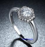 Heet verkoop de Ringen van het Messing van het Zirkoon van Juwelen (R0829)