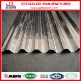 Hoja de acero acanalada del material para techos del cinc del hierro de G90 Hdgi
