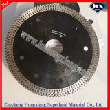 Rim continuo Wet Cutting Diamond Saw Blades per Stone