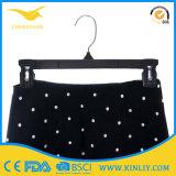 Gancio di plastica poco costoso di disegno semplice dei pantaloni del gancio di vestiti per il negozio del panno