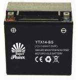 Maintenance selado Free Motorcycle Battery em High Começo Performance com UL Certificate Corresponding do CE a Ytx Series