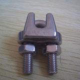 Type agrafes de JIS de câble métallique d'acier inoxydable