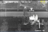 10km lange Reichweiten-thermische Infrarotkamera für Ölfeld, Rand-Sicherheit
